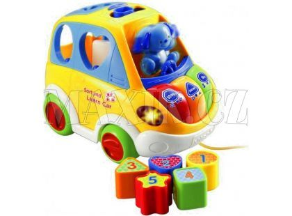 VTech Mluvící auto vkládačka - žluté