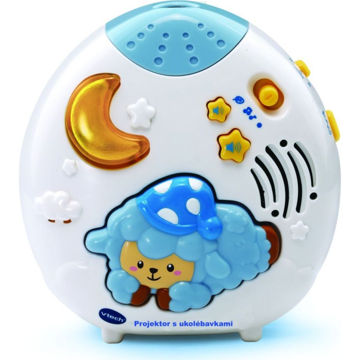 VTech Projektor s ukolébavkami a beránky na obloze CZ