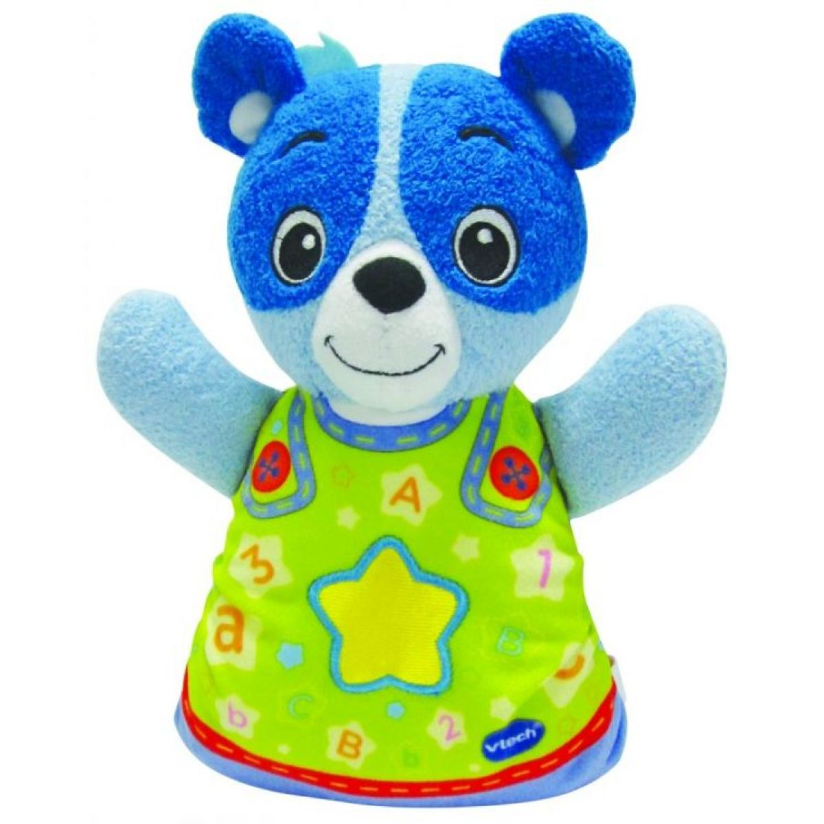 Vtech Usínáček Medvídek - modrý 22cm
