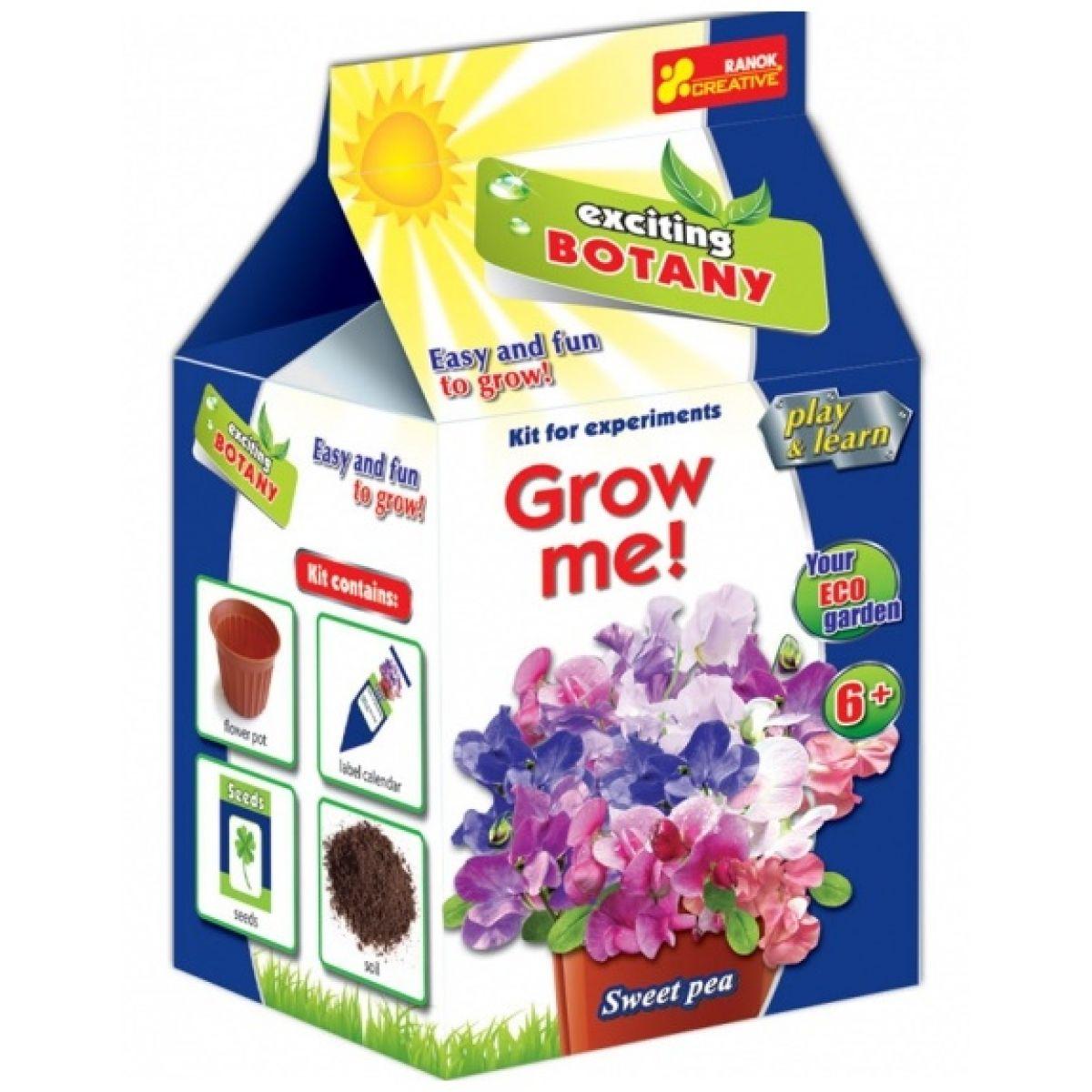 Vypěstuj si květinu Hrachor vonný