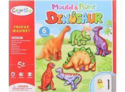 Výroba magnetů dinosauři - Poškozený obal