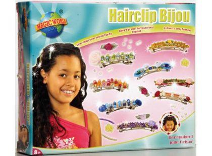 Výroba ozdobných sponek do vlasů