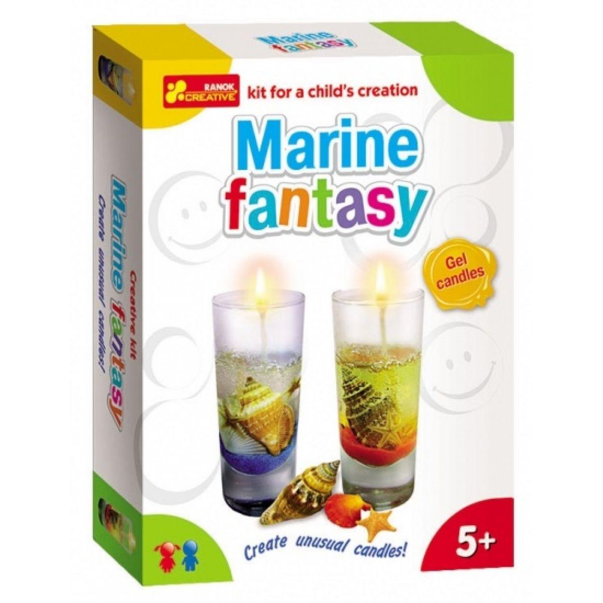 Výroba svíček Mořská fantazie
