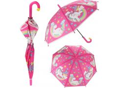 Vystřelovací dětský deštník Jednorožec