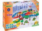 Wader Kid Cars 3D Garáž s dráhou 5,5m 2