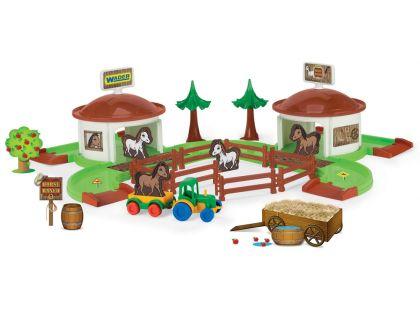 Wader Kid Cars 3D Koňský ranč