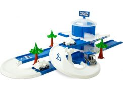 Wader Kid Cars 3D Policejní stanice 3,8 m