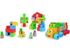 Wader Kostky stavebnice Middle Blocks plast 70ks