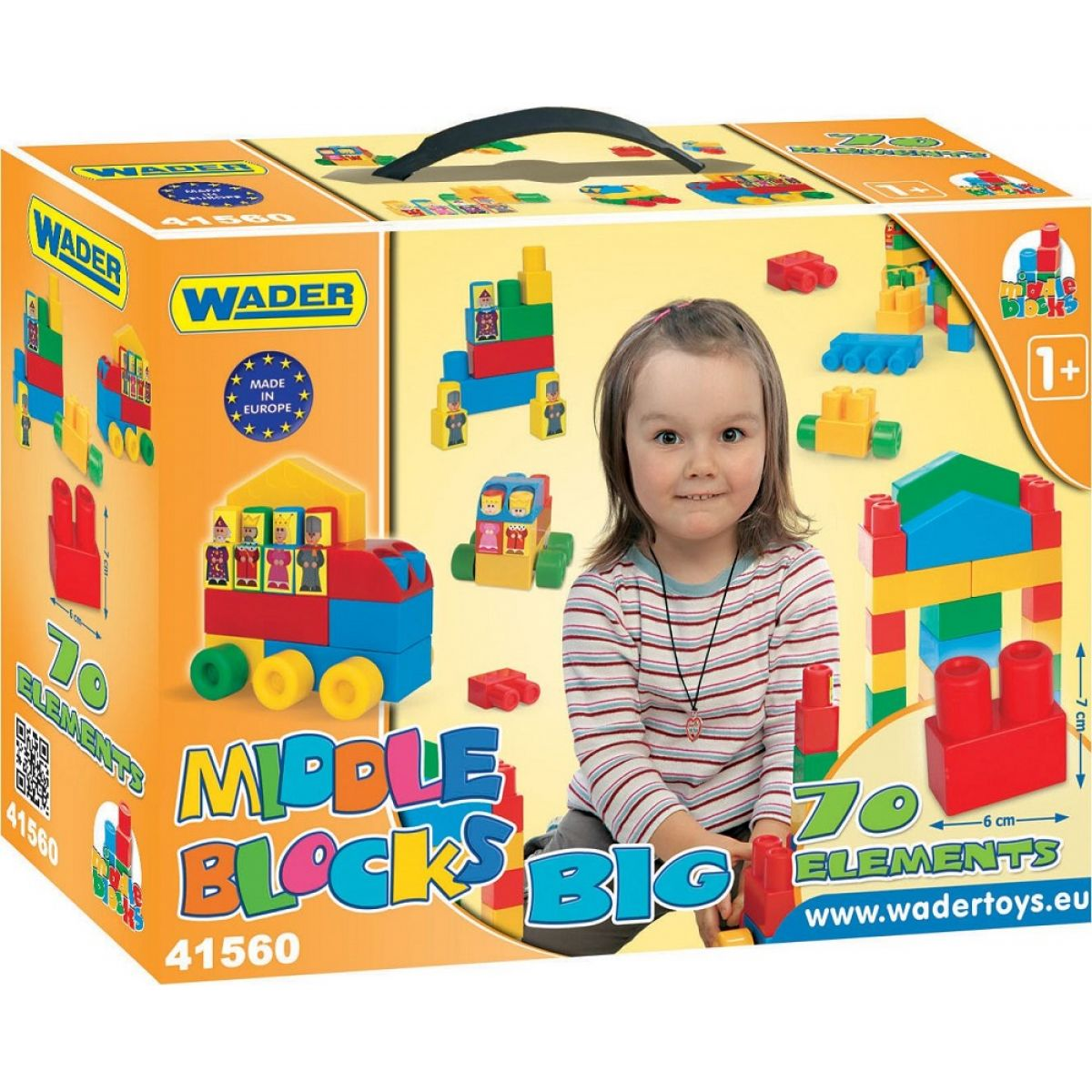 Wader Middle Blocks sada Big 70ks