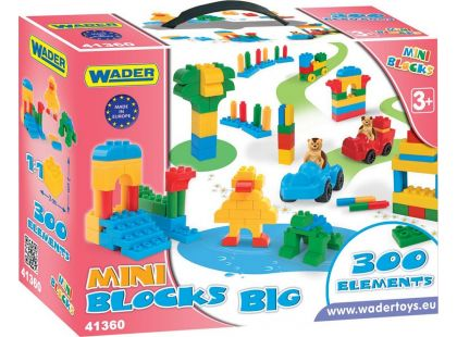 Wader Mini Blocks Kostky 300ks