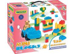 Wader Mini Blocks Kostky střední 130ks