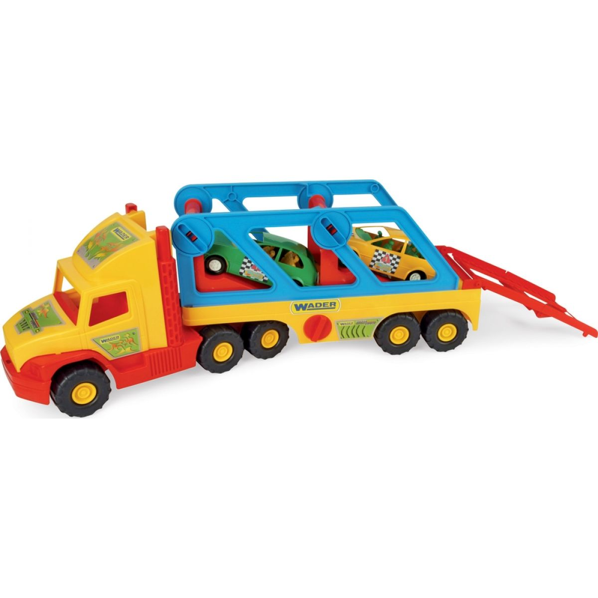 Wader Super Truck s autíčky
