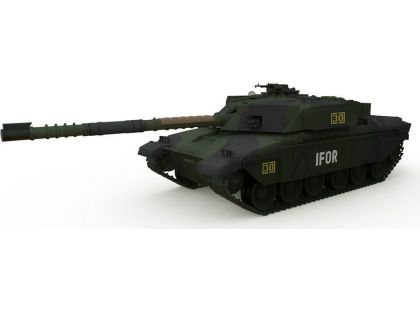 Waltersons RC Tank British MBT Challenger 1 Forest 1/72