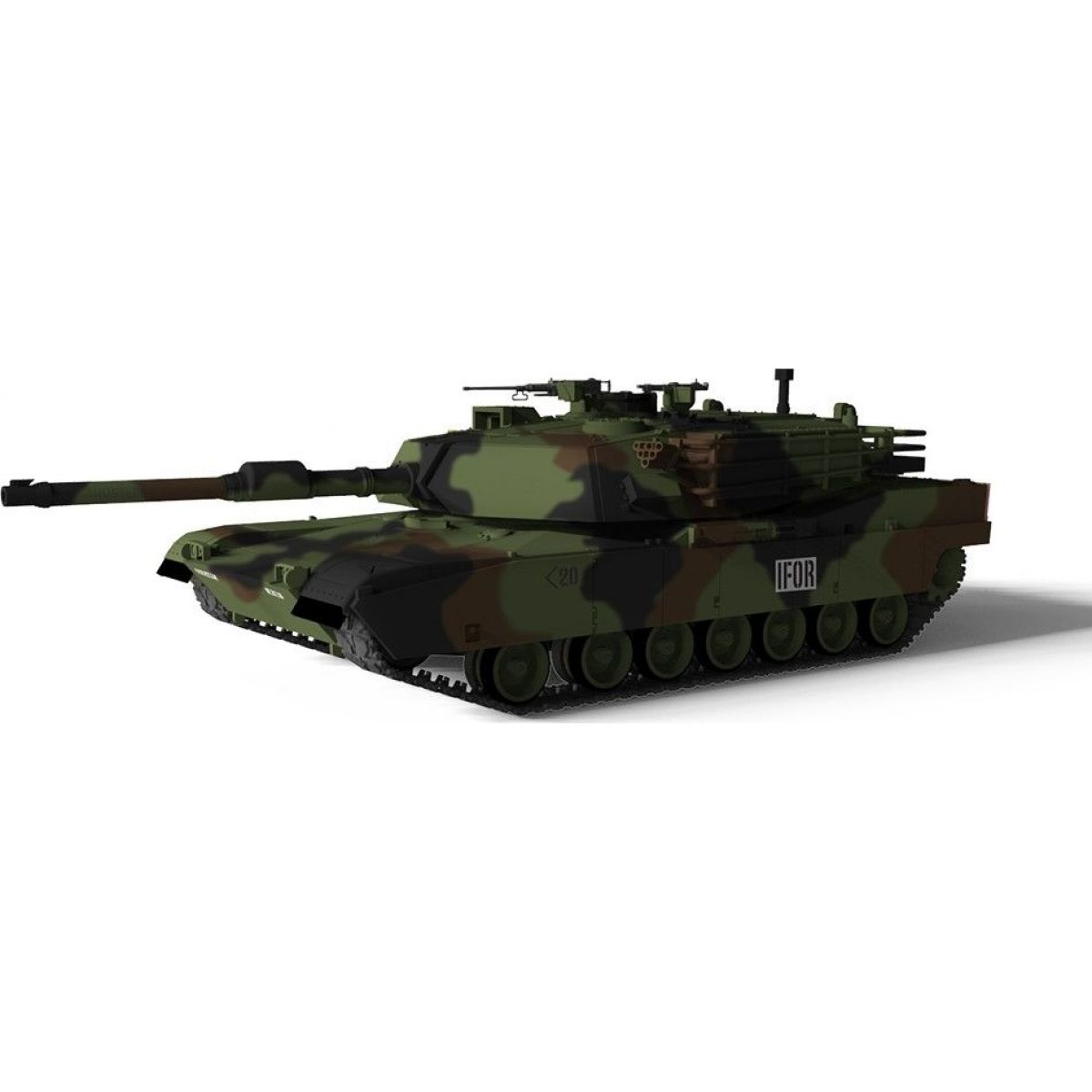 Waltersons RC Tank US MBT M1A1 Abrams NATO 1/72