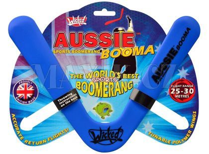 Wicked Aussie Booma Bumerang - Modrý