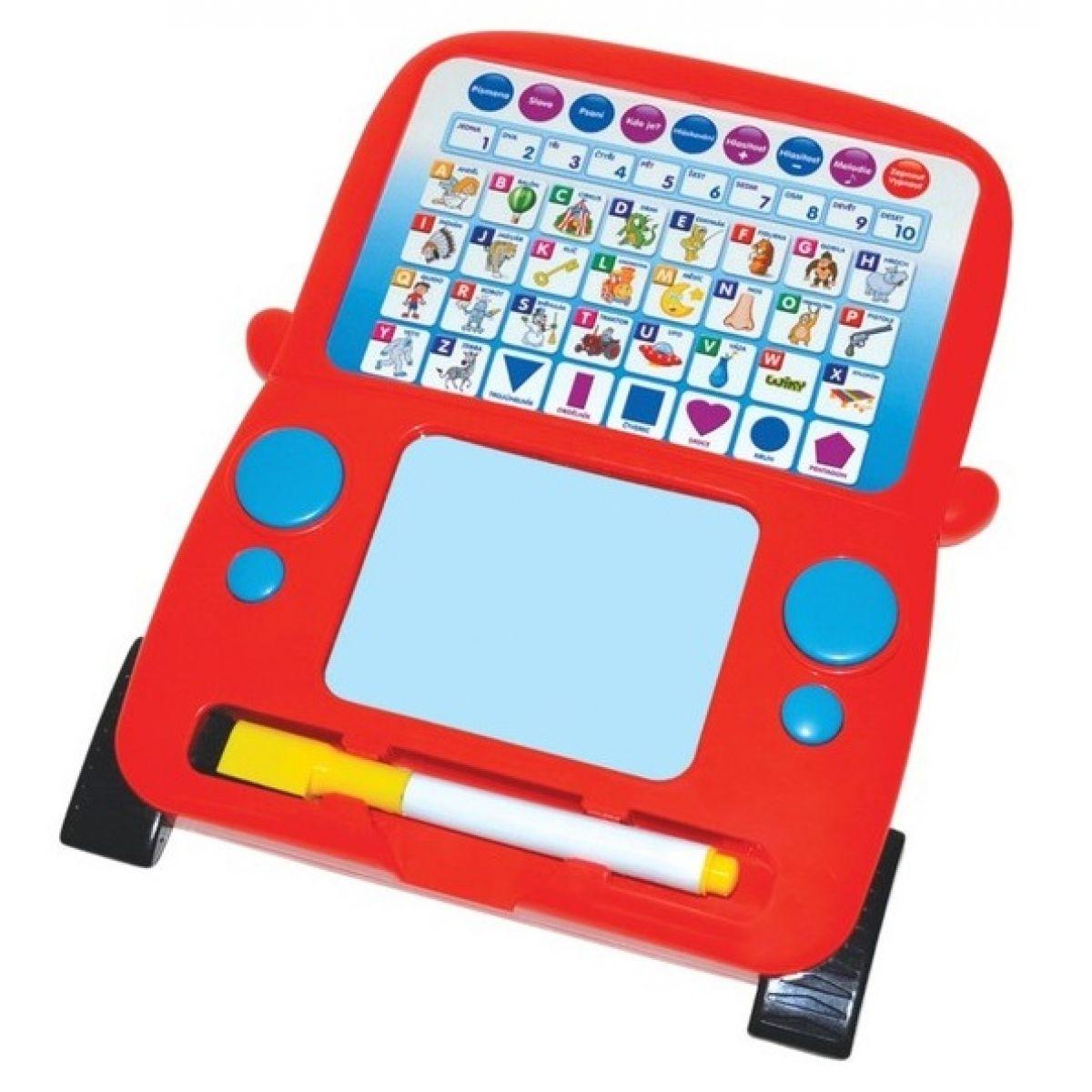 Wiky ABC Tablet Nauč se psát - Červená