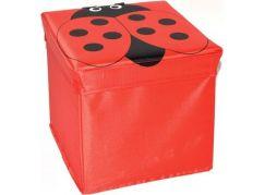 Wiky Box na hračky 25 cm Beruška
