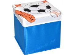 Wiky Box na hračky 25 cm Sport