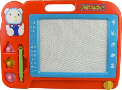 Wiky Magnetická tabulka kreslící - Červeno-modrá