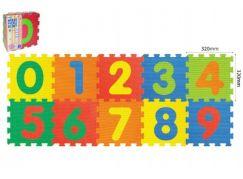 Wiky Pěnové puzzle Číslice 10ks