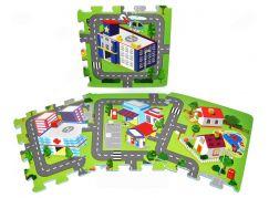 Wiky Pěnové puzzle Město 10ks