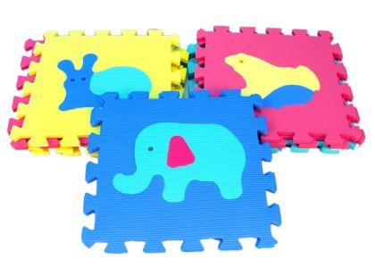 Wiky Pěnové puzzle Zvířata 10ks