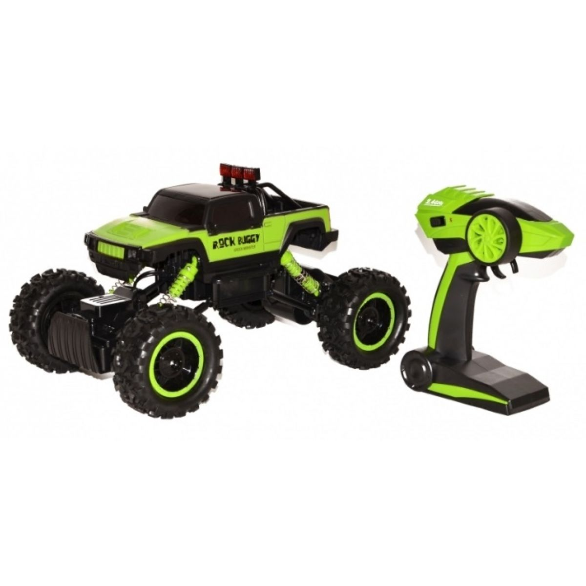 Wiky RC Rock Buggy Green monster