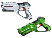 Wiky Territory Laser Game Double Bílo-zelená