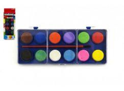 Wiky Vodové barvy 12 barev v krabičce