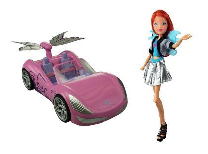 Winx Bloom a magické auto