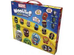 Wooblies Marvel Bojová Aréna s 2 turbo vystřelovači