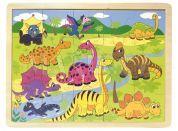Woody 91703 Puzzle dinosauři 20 dílků