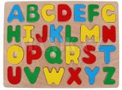 Woody Dřevěné puzzle abeceda