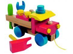 Woody Dřevěné montážní auto