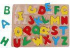 Woody Dřevěné puzzle abeceda 2