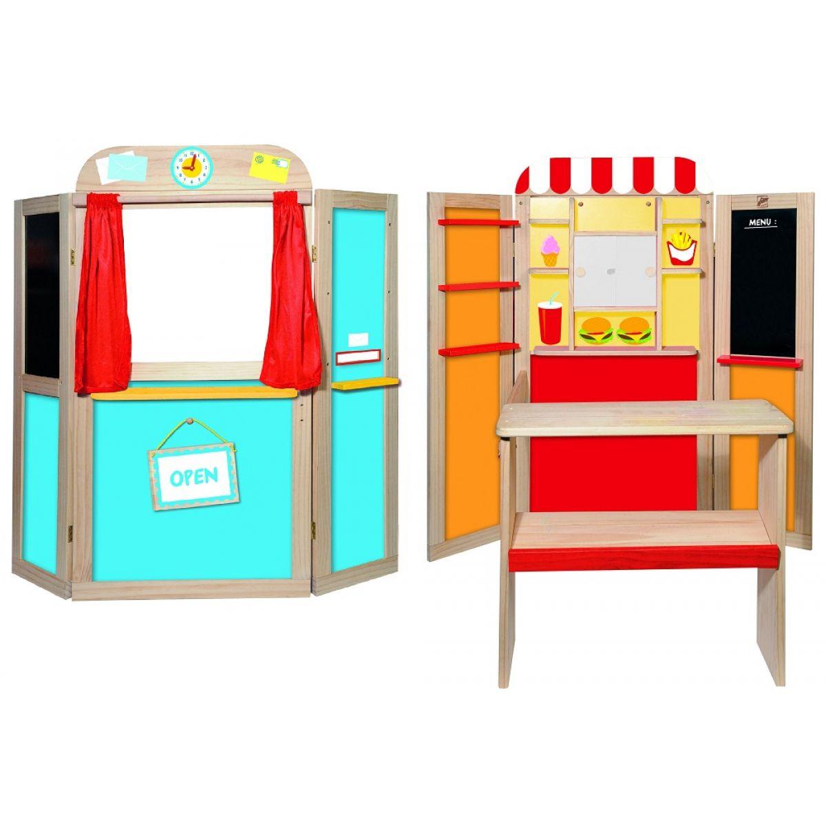 Woody Kombinovaná dětská prodejna - pošta