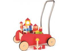 Woody Kovový vozík s kostkami
