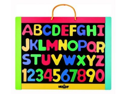 Woody Magnetická tabule s písmenky