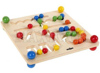 Woody Motorický labyrint s kuličkami