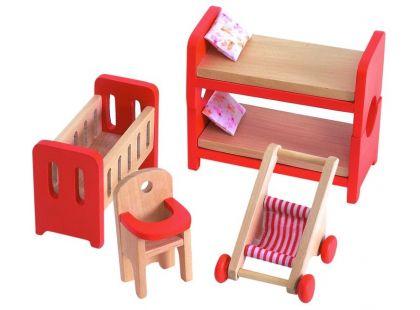 Woody Nábytek do domečku - Dětský pokoj