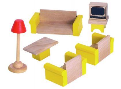 Woody Nábytek do domečku - Obývací pokoj