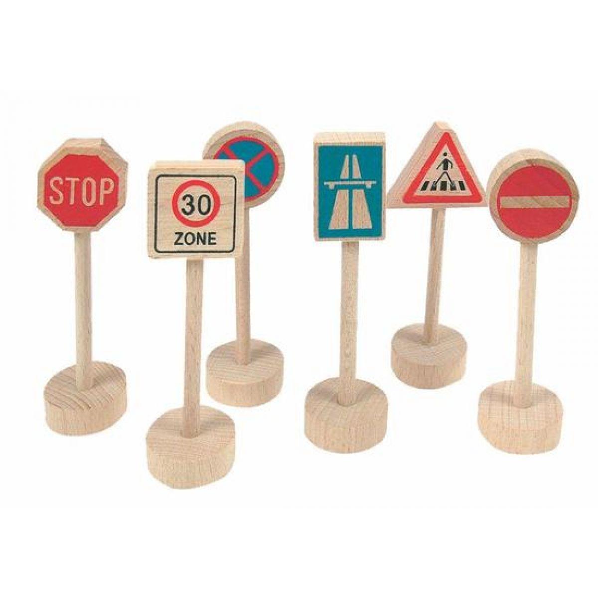Woody Příslušenství k dráze Dopravní značky