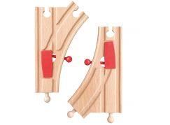 Woody Příslušenství k dráze Výhybky K dřevo a plast