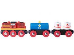Woody Příslušenství k vláčkodráze Diesel lokomotiva s nákladním vlakem