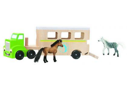 Woody Tahač s návěsem pro přepravu koní