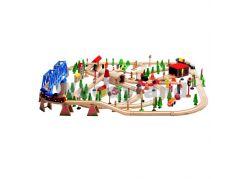 Woody Vláčkodráha Super Train 170 dílů