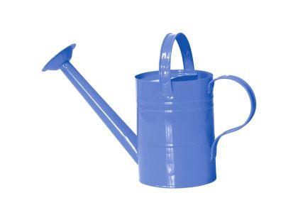 Woody Zahradní konvička kovová modrá