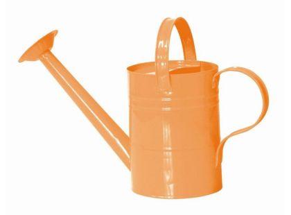 Woody Zahradní konvička kovová růžová - Oranžová
