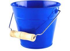 Woody Zahradní kyblík modrý kov
