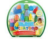 Wooky Block Crayon Farma pastelky 20ks